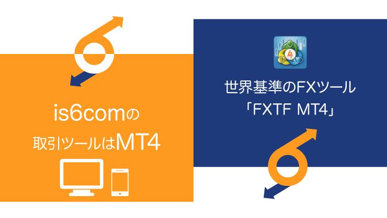 is6comはMT4が取引ツールのアイキャッチ画像
